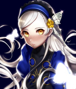 Rating: Safe Score: 1 Tags: 1girl blonde_hair blush headband lavenza long_hair nyeeshii persona persona_5 solo spoilers yellow_eyes User: DMSchmidt