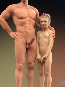 Rating: Explicit Score: 28 Tags: 1boy 1girl 3dcg age_difference blonde_hair blue_eyes earrings flat_chest grandfather_and_granddaughter hairband hand_on_another's_shoulder jewellery looking_at_viewer navel nipples nude penis photorealistic pose smile spudnuts standing testicles User: fantasy-lover