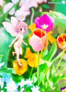 Rating: Questionable Score: 3 Tags: 1girl fairy flat_chest flower hair_flower hair_ornament kisaragi_miyu minigirl nature nipples nude original pink_eyes pink_hair short_hair smile solo wings User: DMSchmidt