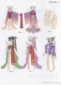 Rating: Questionable Score: 2 Tags: 1girl ass barefoot character_design chinadress chinese_clothes concept_art fan hand_on_hip highres houmei japanese_clothes kimono long_hair pantsu pointy_ears purple_eyes red_eyes shining_(series) shining_tears shining_wind shining_world simple_background sketch solo thong tony twin_tails underwear white_hair wide_sleeves User: DMSchmidt