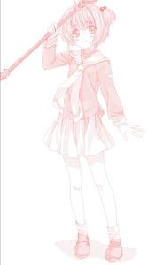 Rating: Safe Score: 0 Tags: 1girl cardcaptor_sakura highres hoshi_no_tsue kinomoto_sakura magical_girl monochrome mutsuki_(moonknives) solo User: DMSchmidt