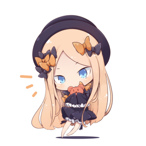 Rating: Safe Score: 0 Tags: 10s 1girl abigail_williams_(fate/grand_order) barefoot beni_shake blonde_hair blue_eyes chibi dress fate/grand_order fate_(series) frilled_dress frilled_sleeves frills hair_ribbon long_hair long_sleeves looking_at_viewer lowres ribbon shadow tagme white_background User: Domestic_Importer