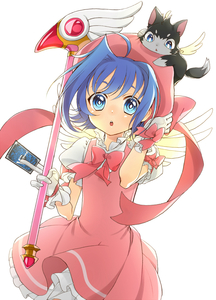 Rating: Safe Score: 2 Tags: 1boy :o blue_eyes blue_hair blush cardcaptor_sakura cardfight!!_vanguard cat cosplay crossdressing dress fuuin_no_tsue highres kinomoto_sakura kinomoto_sakura_(cosplay) open_mouth otoko_no_ko sendou_aichi short_hair solo wand yuu_(7862260010) User: DMSchmidt