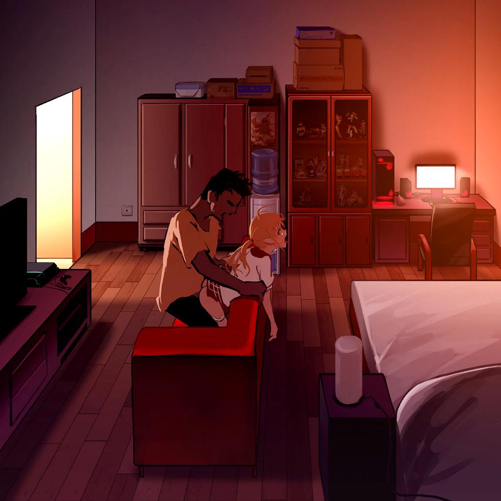 1boy 1girl Ahegao As109 Ass Bed Bedroom Bend Bent Over