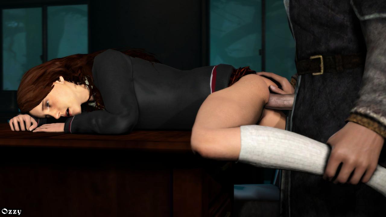 Рон и гермиона секс, 2. Домашнее задание (Рон УизлиГермиона Грэйнджер) 15 фотография